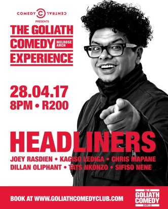 Goliath Comedy Experience 3