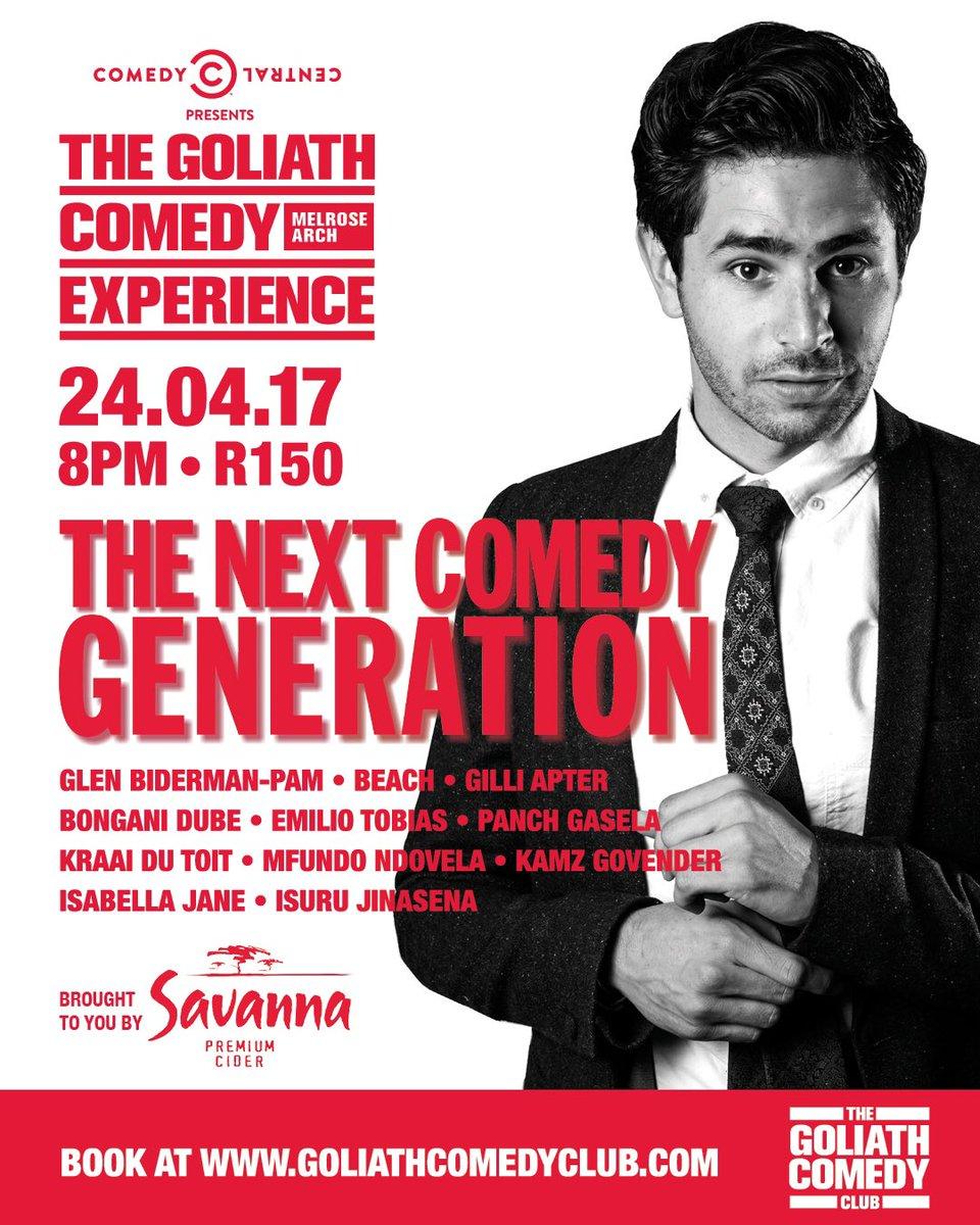 Goliath Comedy Experience 4