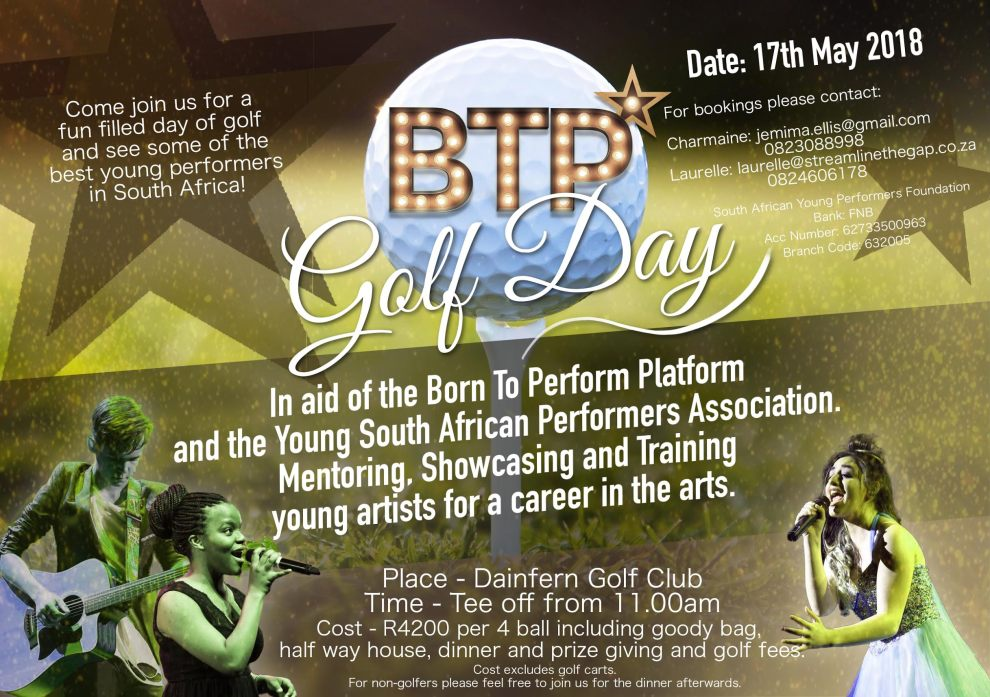 Born to Perfom Golf Day