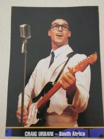 Craig Urbani as Buddy Holly