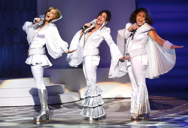 FLTR Kate Normington (Tanya), Gina Shmukler (Donna), Ilse Klink (Rosie)